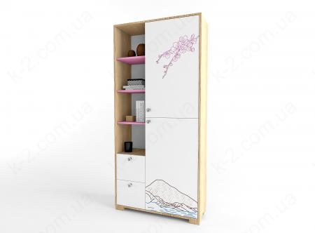 11 Шкаф-стеллаж 100 серия Sakura К-2 стандарт