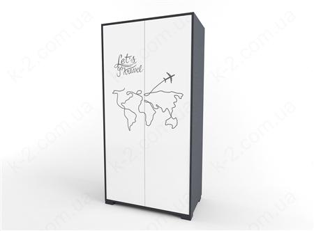 12 Шкаф двухдверный 100 серия Travel К-2 стандарт
