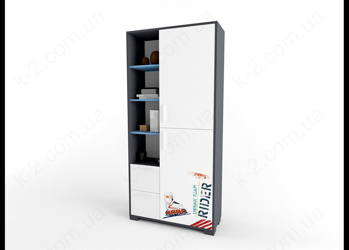 11 Шкаф-стеллаж 100 серия Urban К-2 стандарт