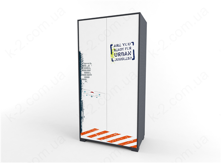 12 Шкаф двухдверный 100 серия Urban К-2 стандарт
