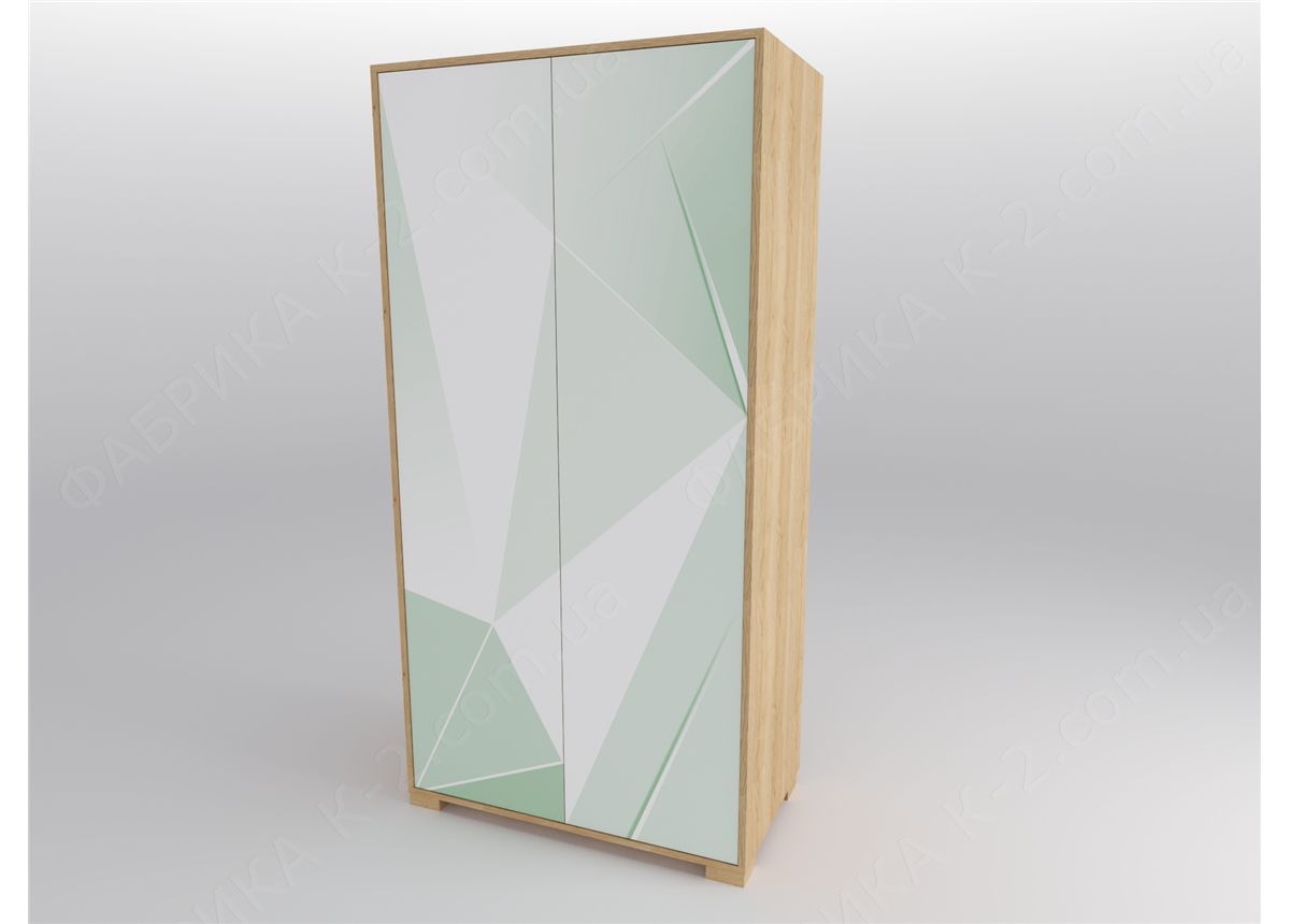12 Шкаф двухдверный 100 серия Beauty К-2 стандарт