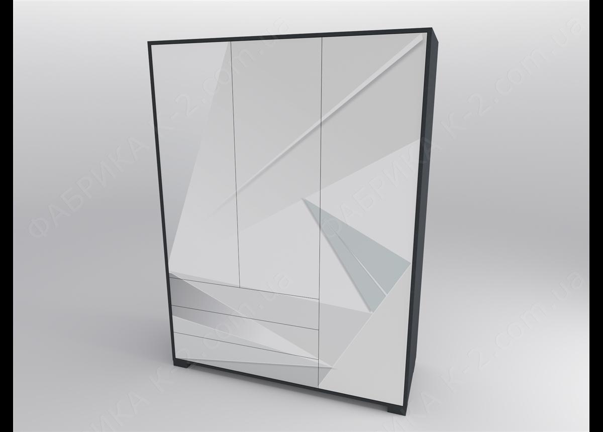 13 Шкаф трехдверный 150 серия Beauty К-2 стандарт
